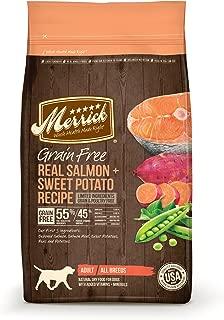 Merrick Grain Free Real Salmon + Sweet Potato Dry Dog Food