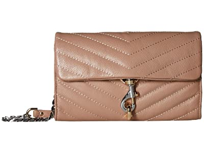 Rebecca Minkoff Edie Wallet On Chain (Doe) Handbags