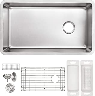 Best stainless steel sink offset drain Reviews
