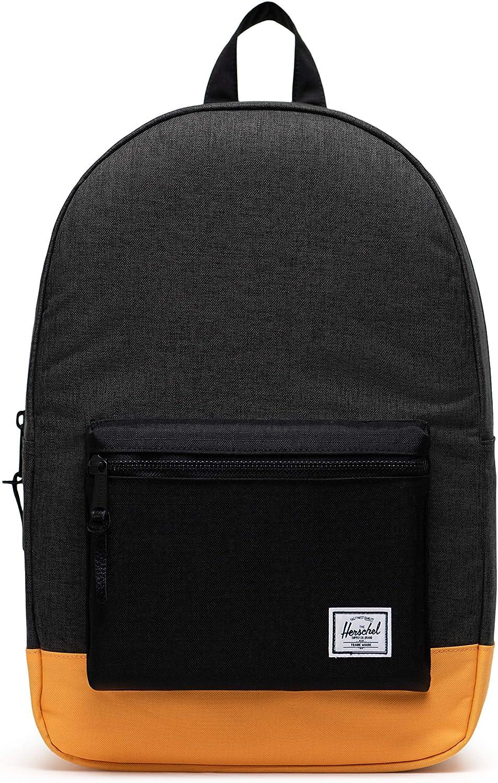 Herschel 品質検査済 Settlement Backpack 激安通販ショッピング Black Crosshatch Ora Blazing