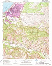 YellowMaps Seaside CA topo map, 1:24000 Scale, 7.5 X 7.5 Minute, Historical, 1947, Updated 1970, 26.9 x 22 in