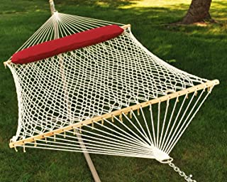 Algoma 2 - Person Cotton Rope Hammock with Pillow