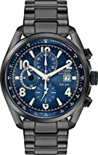 Citizen CA0365-54L Men's Watch Black 45mm Black Ion-Plated Stainless Steel