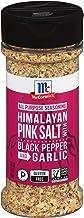 McCormick Himalayan Pink Salt with Black Pepper and Garlic All Purpose Seasoning, 6.5 Oz