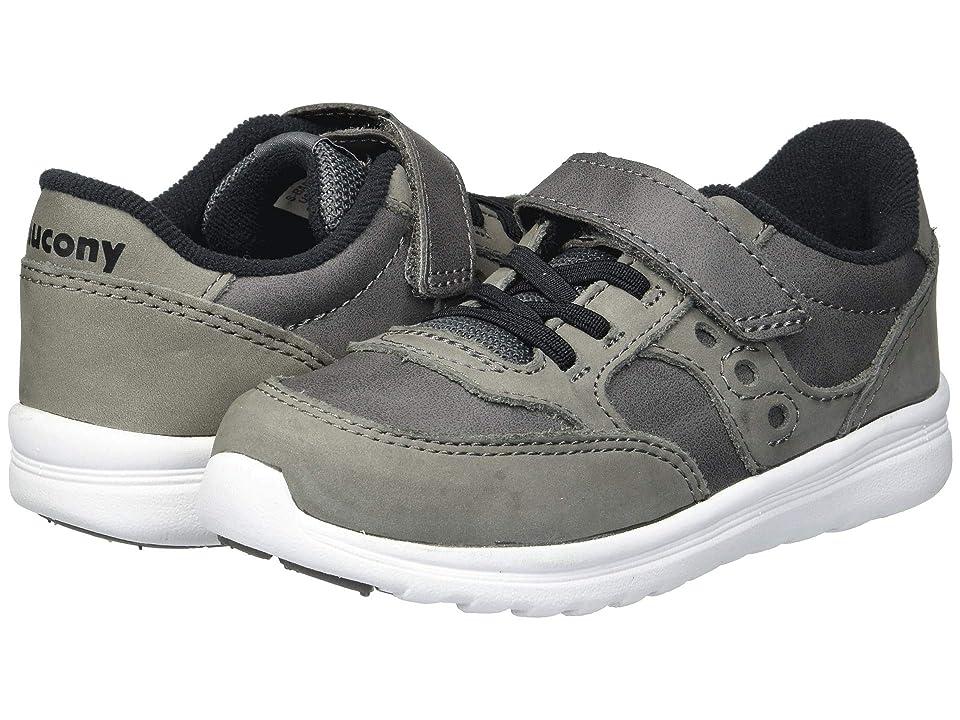 Saucony Kids Originals Jazz Lite (Toddler/Little Kid) (Grey) Boys Shoes