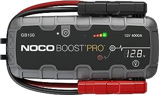comprar comparacion NOCO Boost Pro GB150, Paquete de arrancador de batería de Coche de Litio portátil ultraseguro de 4000 amperios y 12 voltio...