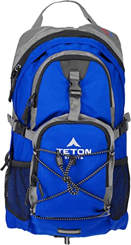 TETON Sports Oasis 1100 Hydration Pack; Free 2-Liter Hydration Bladder; For Backpacking, Hiking, Running, Cycling, an...