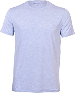 Derek Rose Men's Ethan 1 Blue Crew Neck Short Sleeve Tee