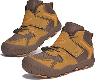 Boys Girls Ankle Hiking Boots Kids Outdoor Trekking Shoes...