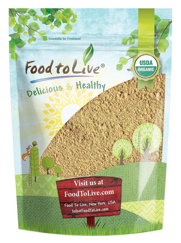 Organic Garlic Powder 8 Ounces Rare - Dried Kosher Raw Super popular specialty store S Non-GMO