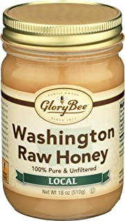 Glorybee, Honey Raw Washington Local, 18 Ounce