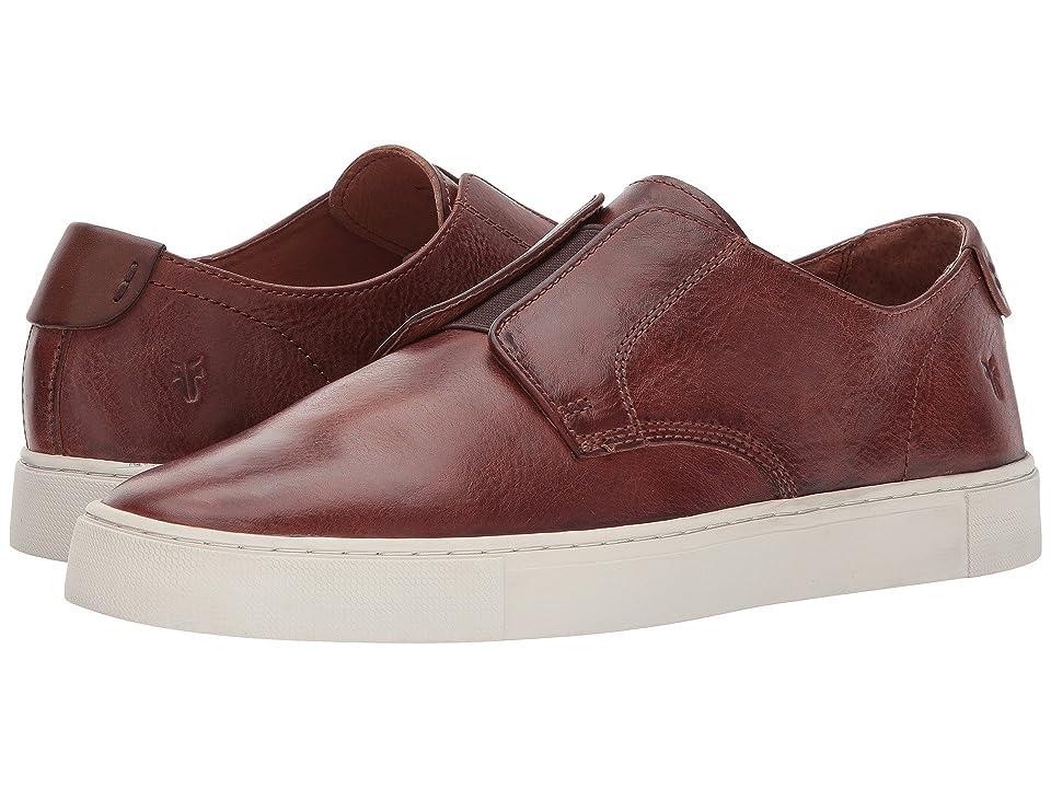 Frye Gabe Gore Oxford (Brown Vintage Veg Tan) Men's Slip-on Dress Shoes