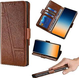 GKLTCK Flip Case For Hisense C30 Rock Case phone Stand Cover [brown]