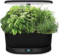 AeroGarden Bounty - Indoor Garden with LED Grow Light, WiFi and Alexa Compatible, Black
