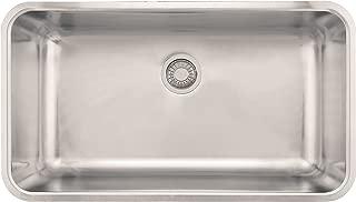 Franke GDX11031 Grande 17-Inch x 31-Inch Single Bowl Undermount Kitchen Sink