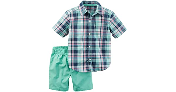 Carters Baby Boys 2 Pc Playwear Sets 229g396
