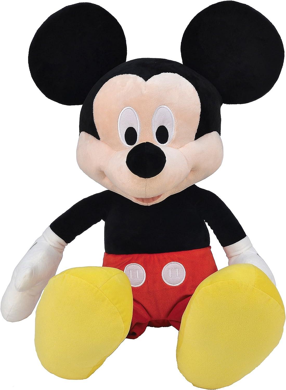 Disney Mickey GG01061 Peluche de 80cm, très Doux, qualité supérieure