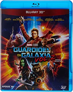 Guardiões Da Galáxia Volume 2 3D