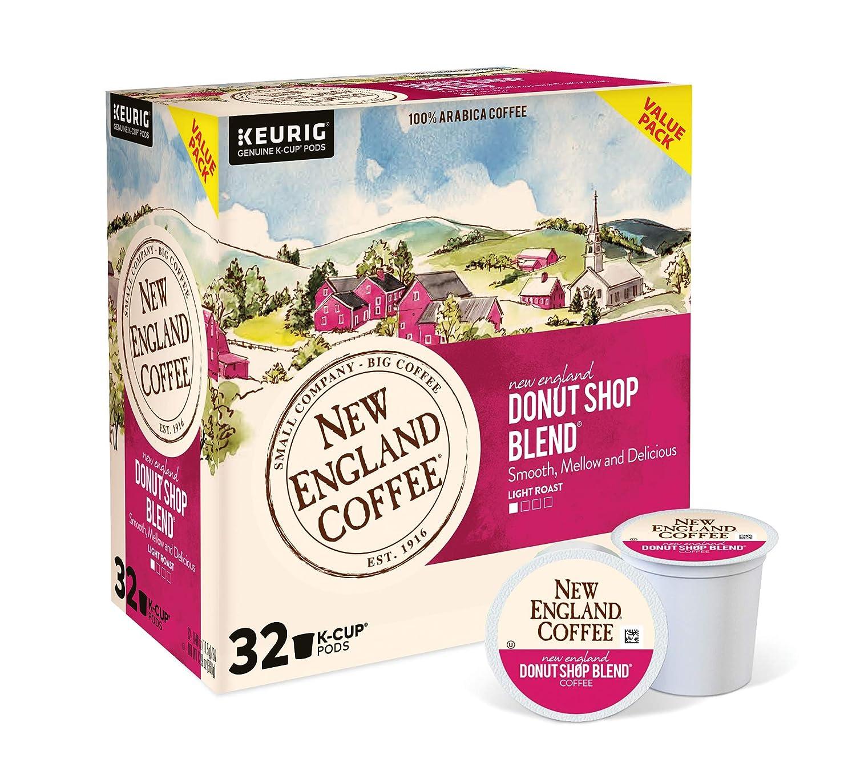 Max 50% OFF New England Coffee Popular brand Donut Shop Light Blend K-Cu Roast