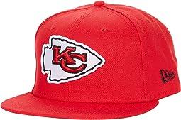 NFL Basic Snap 9FIFTY Snapback Cap - Kansas City Chiefs