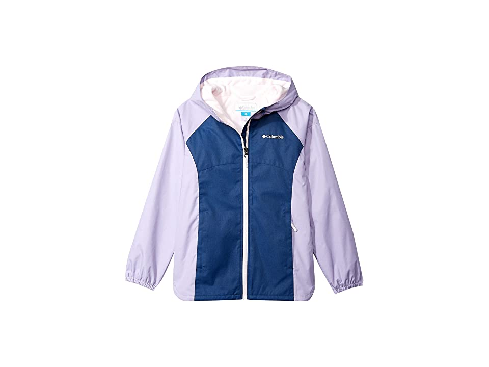 Columbia Kids Endless Explorer Jacket (Little Kids/Big Kids) (Carbon/Whitened Pink) Girl