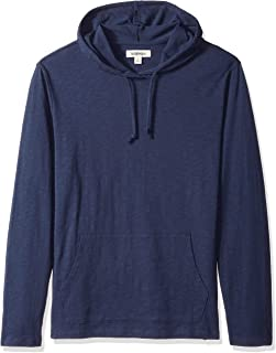 Amazon Brand - Goodthreads Men's Lightweight Slub T-Shirt Hoodie