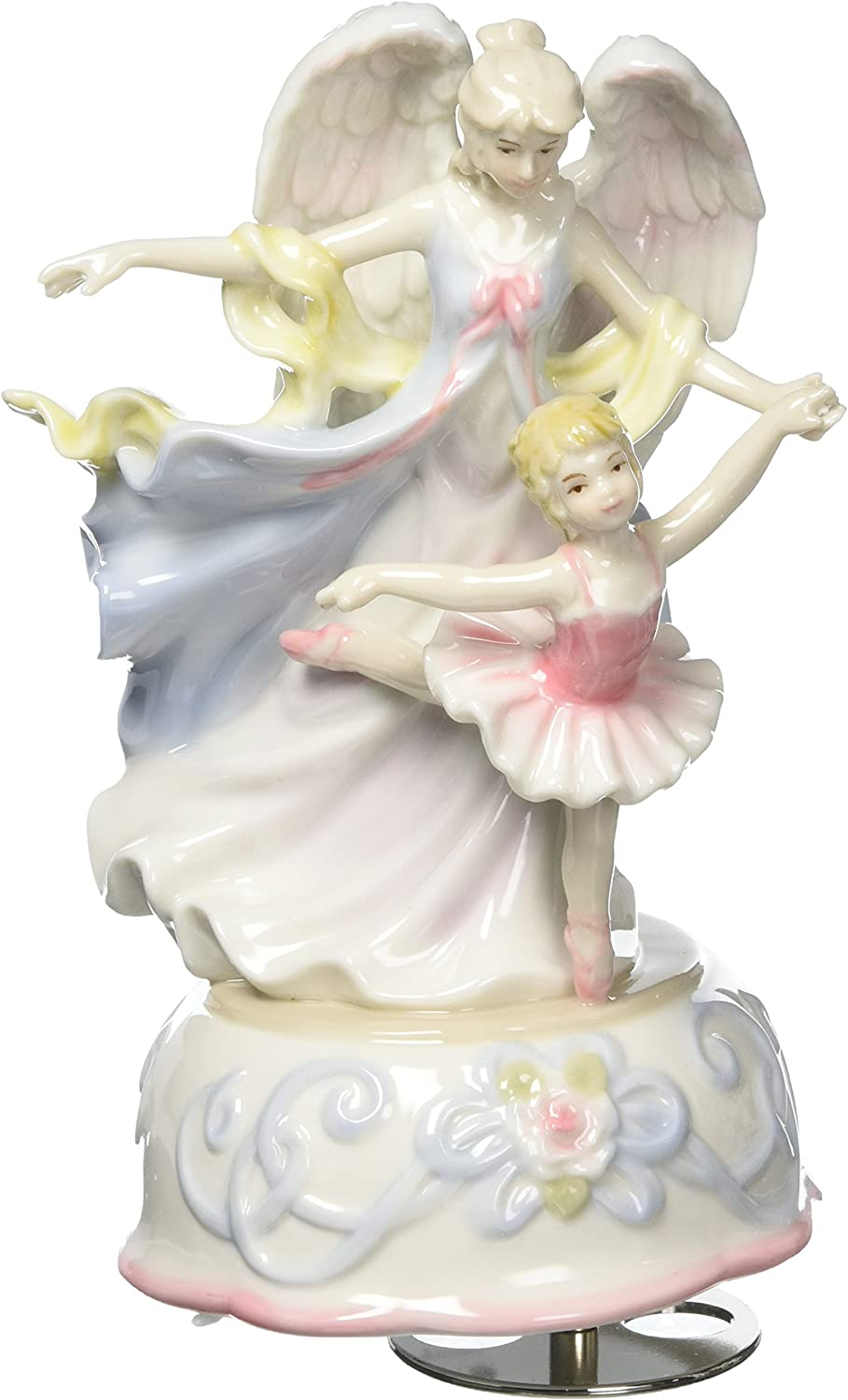 Cosmos Box Angel with Ballerina Ceramic Musical
