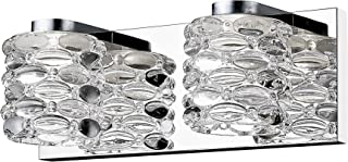 12.6 in. Vanity Light with Clear Glass Shade