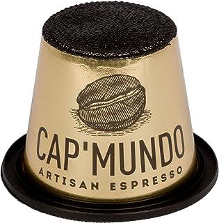 CapMundo Paris Nespresso Compatible – 100% Arabica Coffee Capsules – French Artisanal Espresso