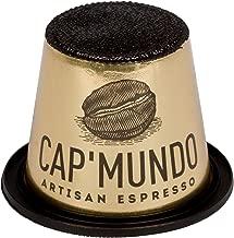 Cap'Mundo Paris 50 Pods for Nespresso Original Line Machines – 100% Arabica – French Artisanal Espresso (Zebrano, 50 Capsules)
