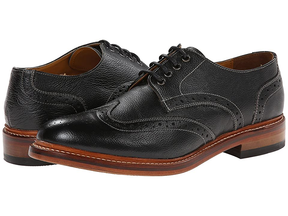 Stacy Adams Madison II Oxford (Black Milled Leather) Men