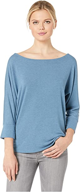 French Terry Dolman Sleeve Top