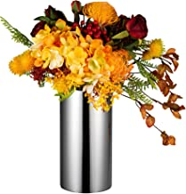 IMEEA Modern Flower Vase 18/8 Stainless Steel 3.9in x 7.6in w/ Mirror Finish for Home Wedding or Centerpiece (Flowers NOT ...