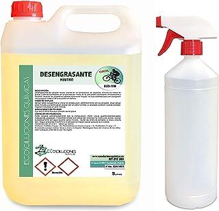 Ecosoluciones Químicas ECO-111 | 5 litros | Desengrasante Neutro para Bicicletas | Protege Todas Las Piezas de la Biciclet...