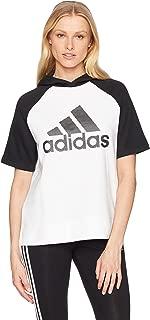 adidas Women's Athletics Fashion Full Zip Short Sleeve Hoody