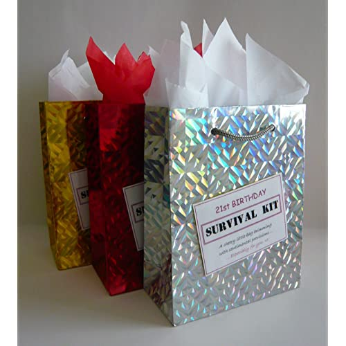21st Birthday Survival Kit For Female Fun Gift Idea Novelty Present