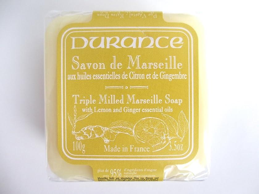 論争的バーマド広まったデュランス 【マルセイユソープ】 レモンジンジャー 固形 100g 95%以上 天然成分 洗顔 全身