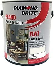 Diamond Brite Paint 11350 1-Gallon Flat Latex Paint Antique White