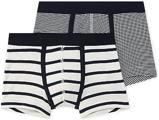 Set of 2 Boys Striped Boxers Sizes 2-18 Style 28976-44454