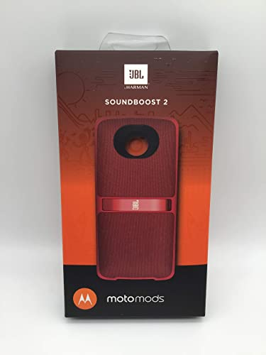 popular JBL SoundBoost 2 MotoMods Speaker For Moto new arrival Z - lowest Red sale
