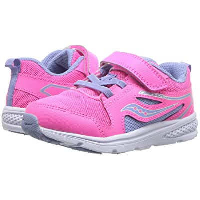 Saucony Kids Cohesion 10 Jr (Toddler/Little Kid) (Pink) Girls Shoes