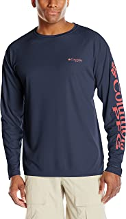 Columbia Men's Terminal Tackle Long Sleeve Shirt, UPF 50...