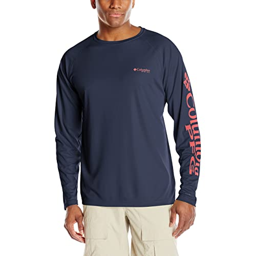 5c4cd7c9ea8 Columbia Men's Terminal Tackle Long Sleeve Shirt, UPF 50 Sun Protection,  Moisture Wicking
