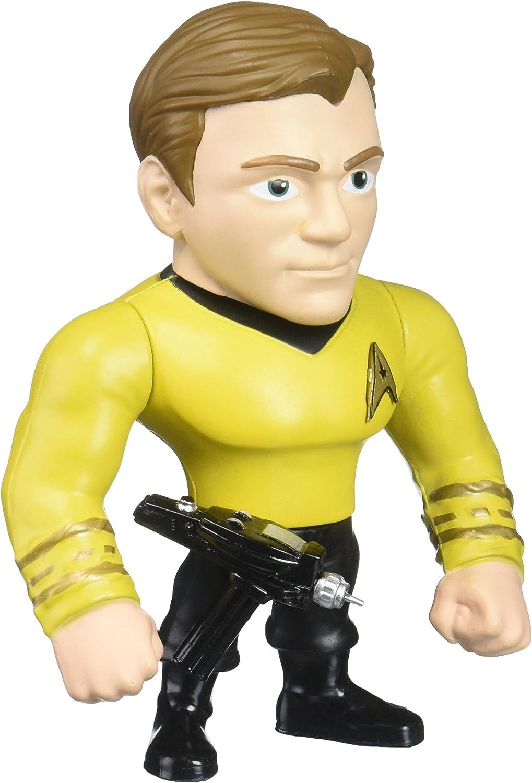 Jada Toys Metals Star Trek 4  Classic Figure - Captain Kirk (M411) Toy Figure, 4