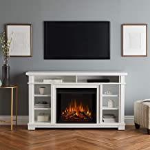 Real Flame Belford Electric Fireplace White