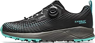 Icebug Womens NewRun BUGrip GTX Road Running Shoe with Carbide Studded Traction Sole