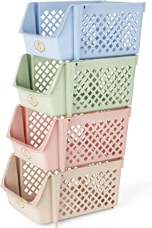 recycling bins stacking