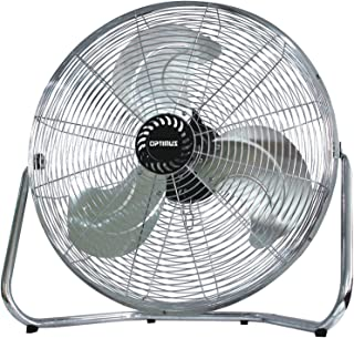 Optimus F-4092 9-Inch Industrial-Grade High-Velocity 2-Speed Fan (Renewed)