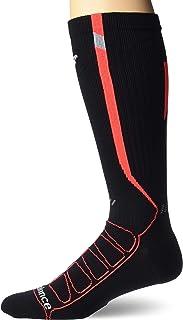 New Balance unisex-adult 1 Pack Run Reflective Compression Otc Socks