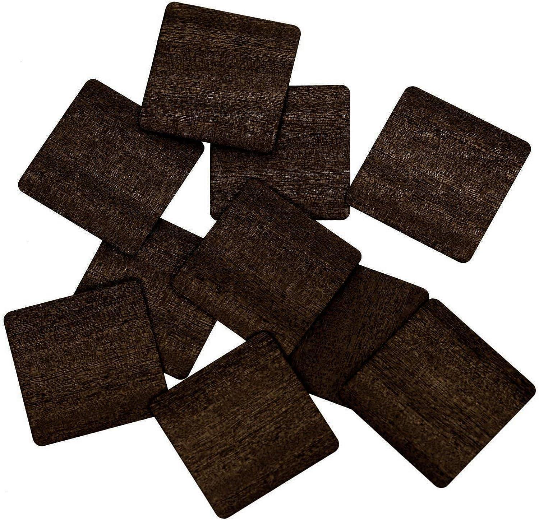 Echt Holz Furnier Quadrate dunkelbraun - Holzscheiben - 1-10cm Streudeko Basteln Deko, Pack mit 50 Stück, Höhe x Breite 9x9cm B07QG7XNPN  | Online Store